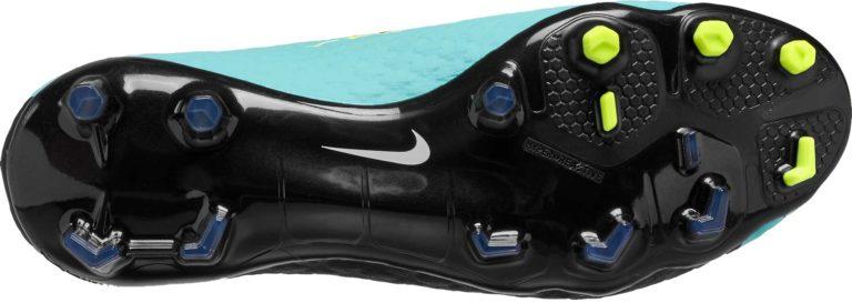 Nike Womens Hypervenom Phatal III DF FG – Light Aqua/White