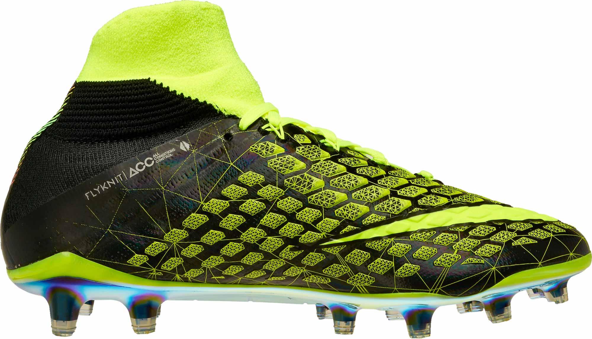 c415337bc87 Nike Hypervenom Phantom III DF FG – EA Sports – Volt Black