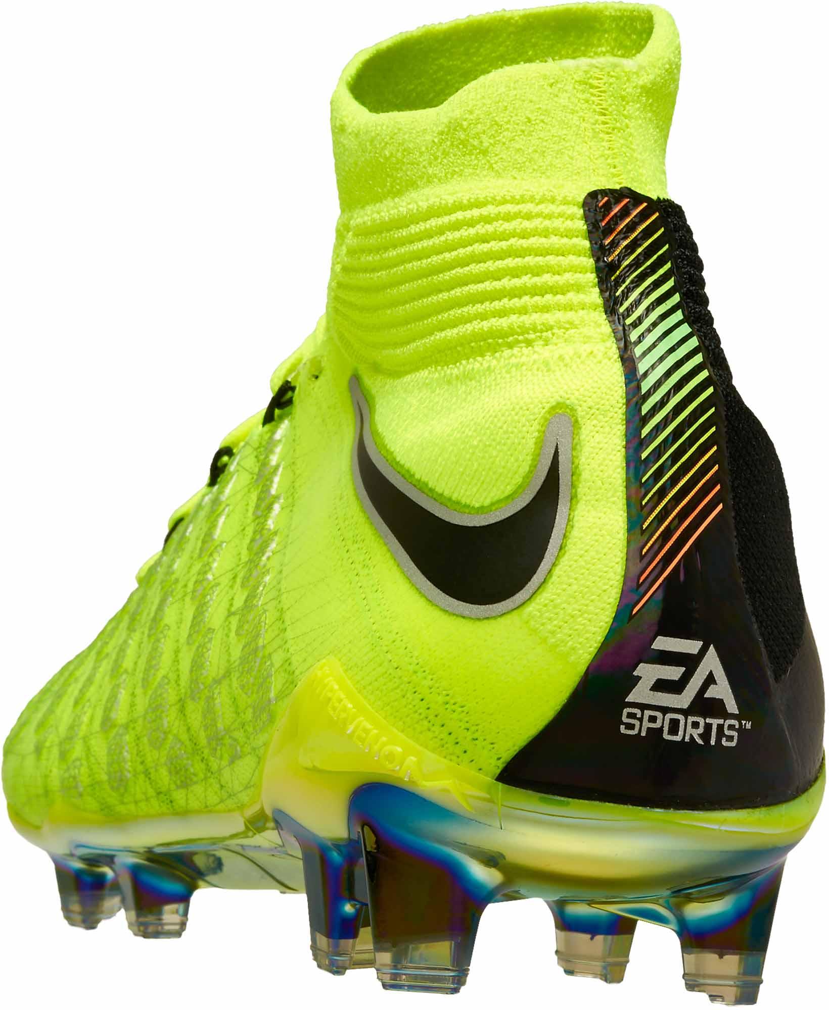 0996867a0 Nike Hypervenom Phantom III DF FG – EA Sports – Volt Black