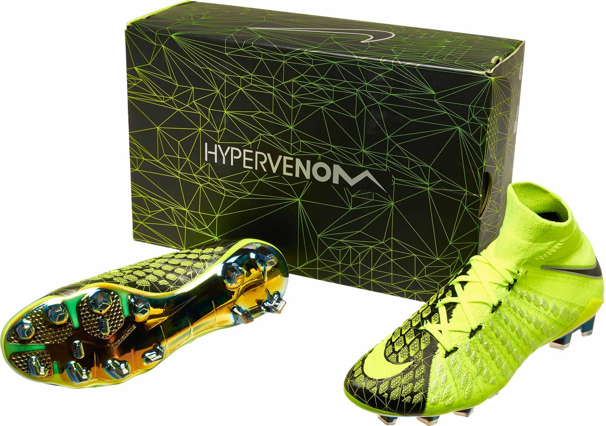 uk availability 3a74f 8c097 Nike Hypervenom Phantom III DF FG - EA Sports - Volt