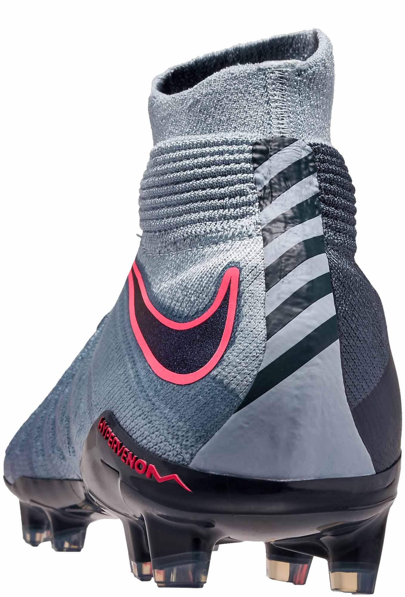 Nike Kids Hypervenom Phantom Iii Df Blue Soccer Cleats