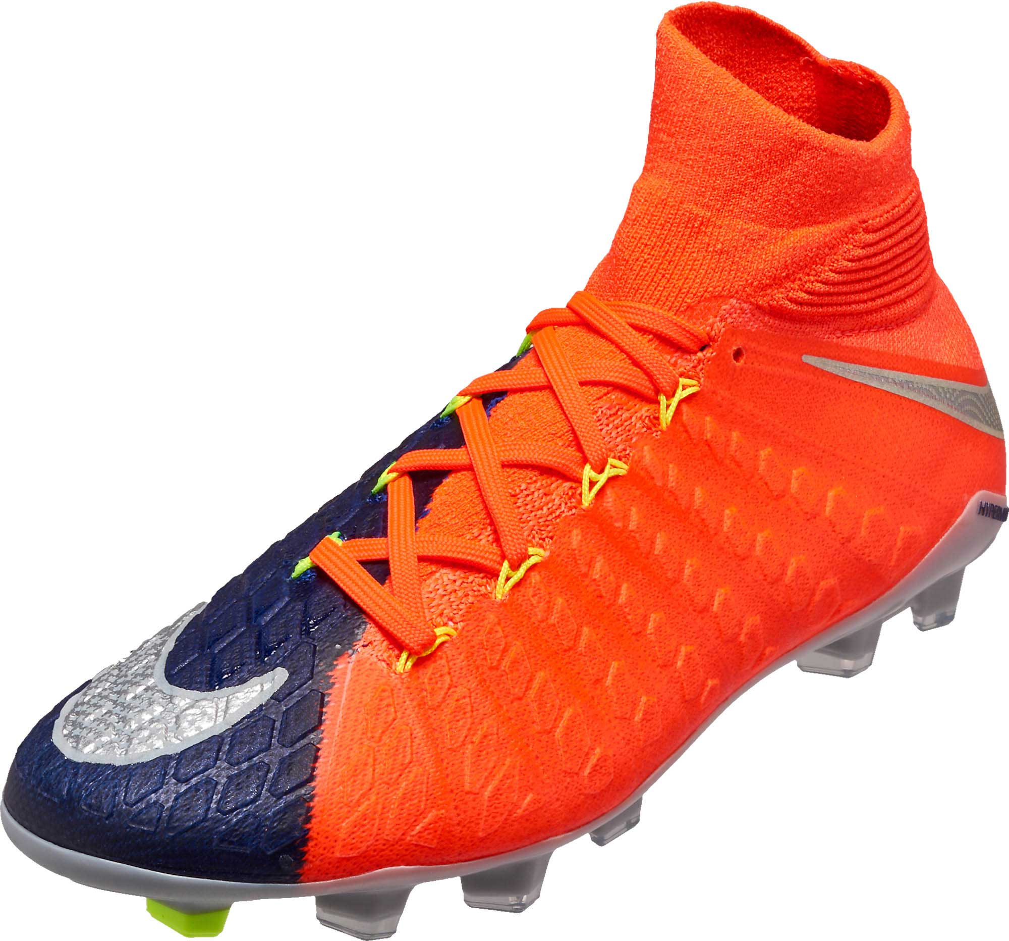 buy popular fa7ef 7442c Nike Kids Hypervenom Phantom III DF FG – Deep Royal/Chrome