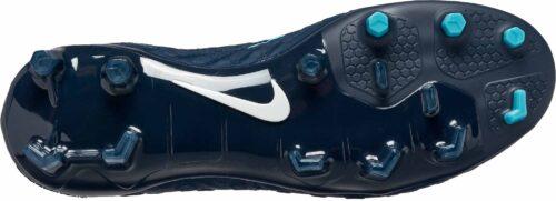 Nike Kids Hypervenom Phantom III FG – Obsidian/White