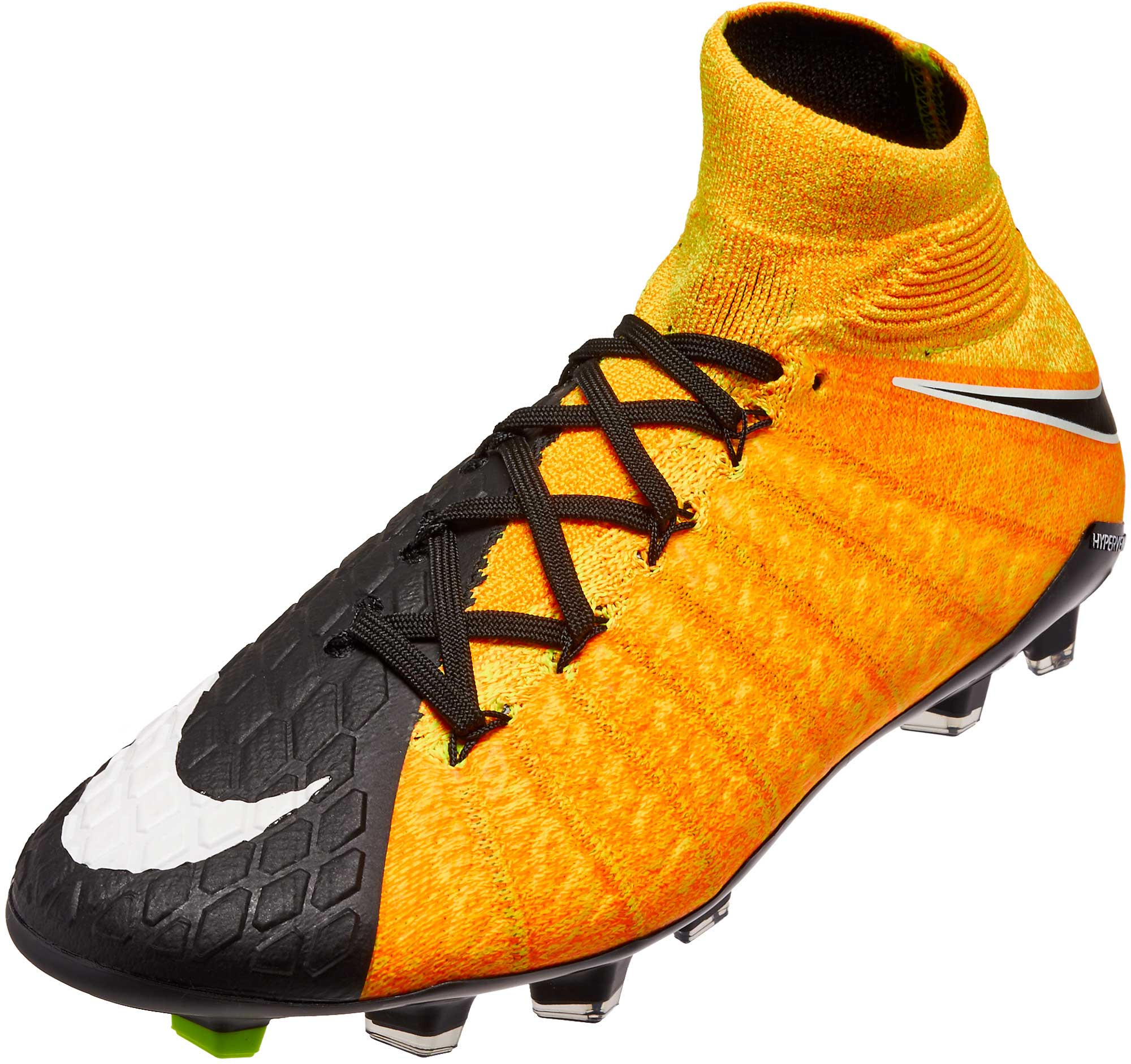 2af083f7d09f7 Nike Kids Hypervenom Phantom III DF FG – Laser Orange/Black