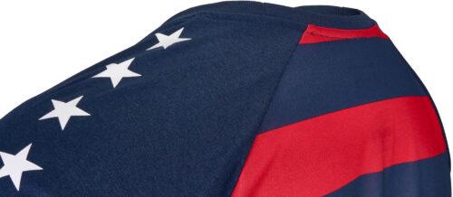 Nike USA Match Tee – Midnight Navy/University Red