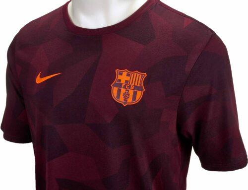 Nike Barcelona Match Tee – Night Maroon