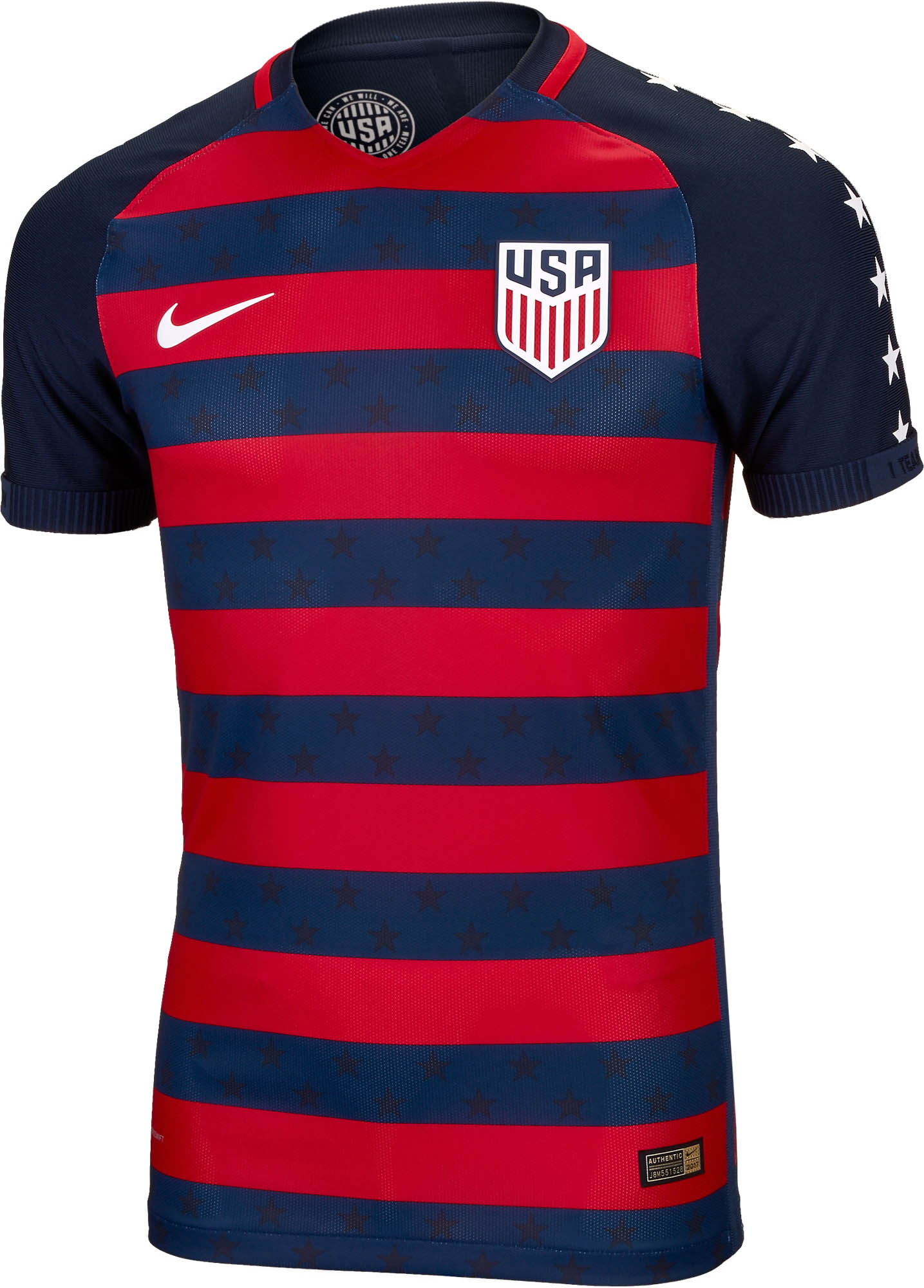 c3b9aae8cfb Nike USA Gold Cup Match Jersey 2017