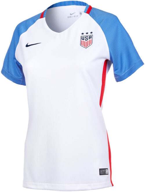 c3f581e77e3 Nike Womens USA Home Jersey 2016-17 NS