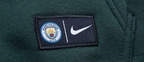 Nike Manchester City Crest Hoodie – Outdoor Green/Field Blue