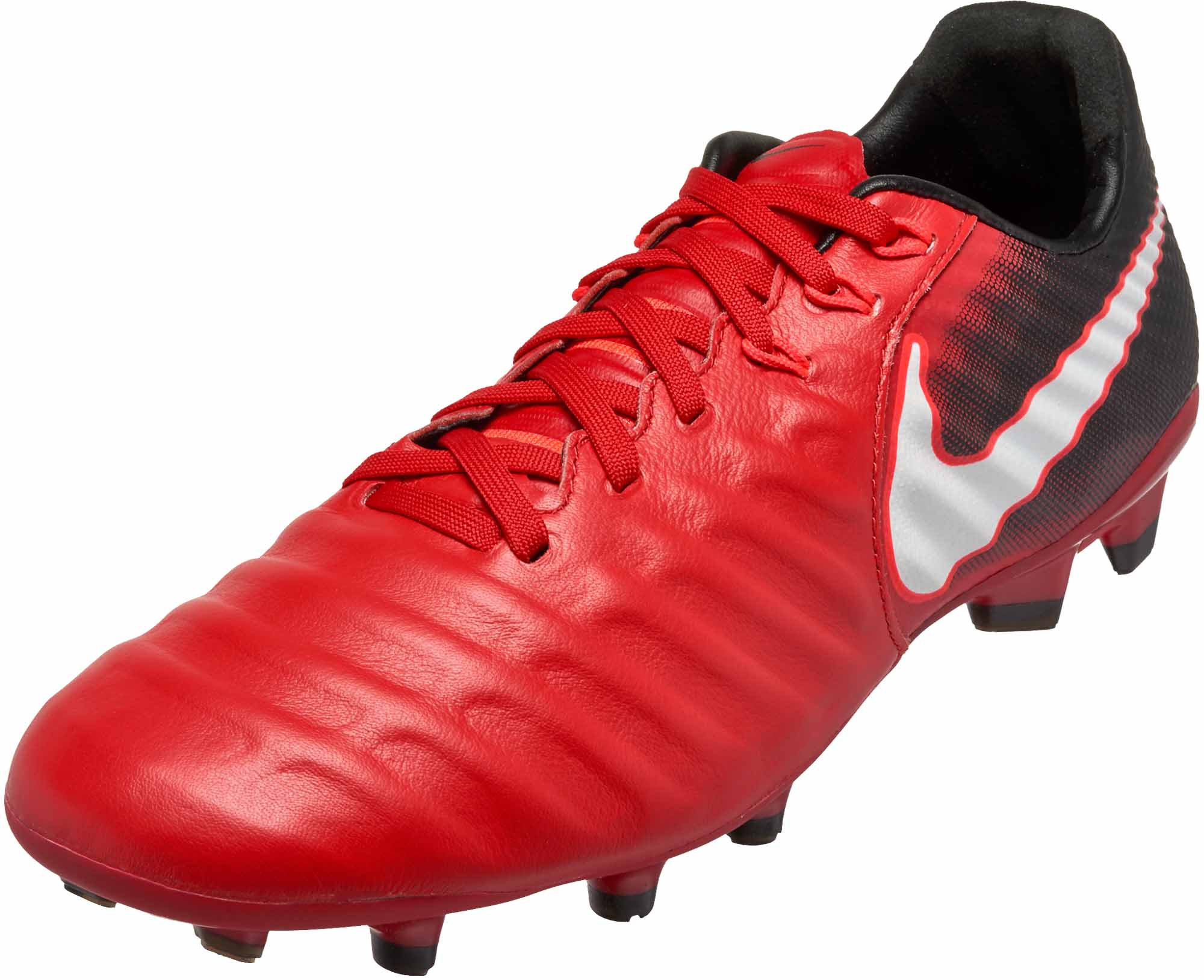 Nike Kids Tiempo Legend VII FG- Youth Red Soccer Cleats d896df7be6c34