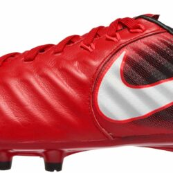50d331598 Nike Kids Tiempo Legend VII FG- Youth Red Soccer Cleats