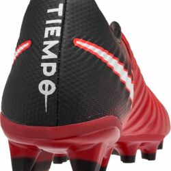 ebd13d48a810 Nike Kids Tiempo Legend VII FG- Youth Red Soccer Cleats