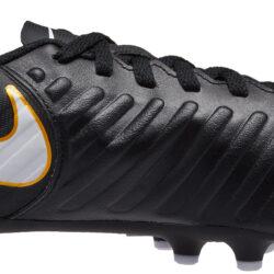 4428d704530323 Nike Kids Tiempo Rio IV FG - Black   White