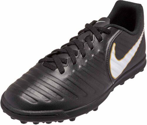Nike Kids TiempoX Rio IV TF – Black/White