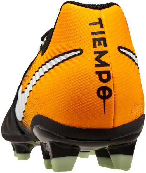 Nike Tiempo Ligera IV FG – Black/White/Laser Orange/Volt