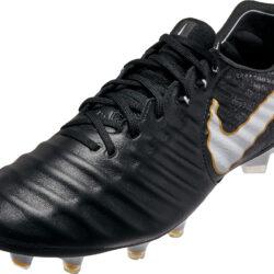 more photos d3835 d4cfe Nike Tiempo Legend VII FG - Black Nike Soccer Cleats