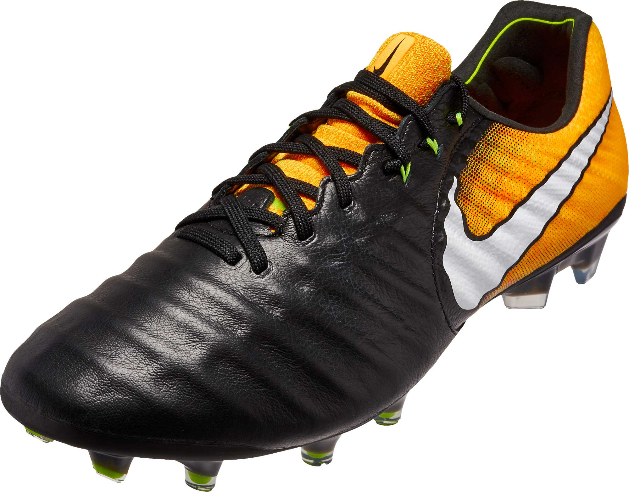 outlet store 9b8af 13b11 Nike Tiempo Legend VII FG – Black/White/Laser Orange/Volt
