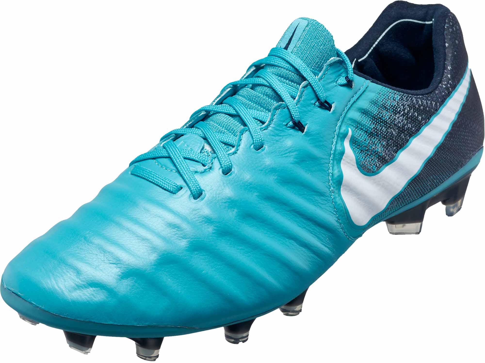 4658bae15 Nike Tiempo Legend VII FG – Gamma Blue/White
