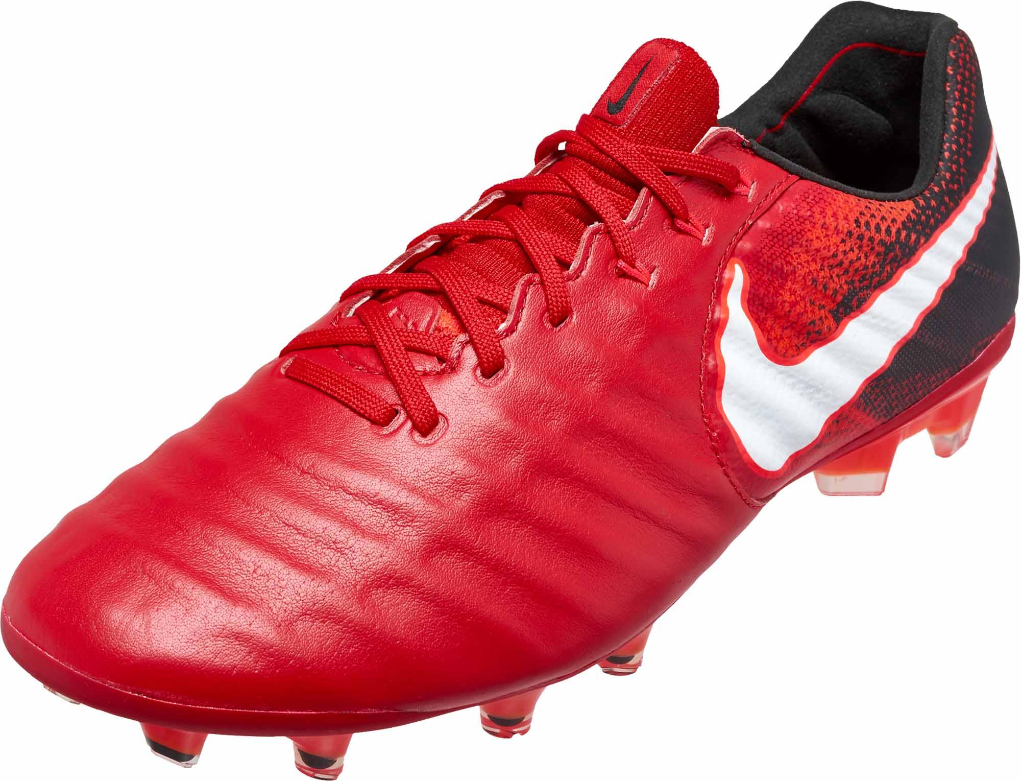 0bc6a51d7 Nike Tiempo Legend VII FG - University Red   White