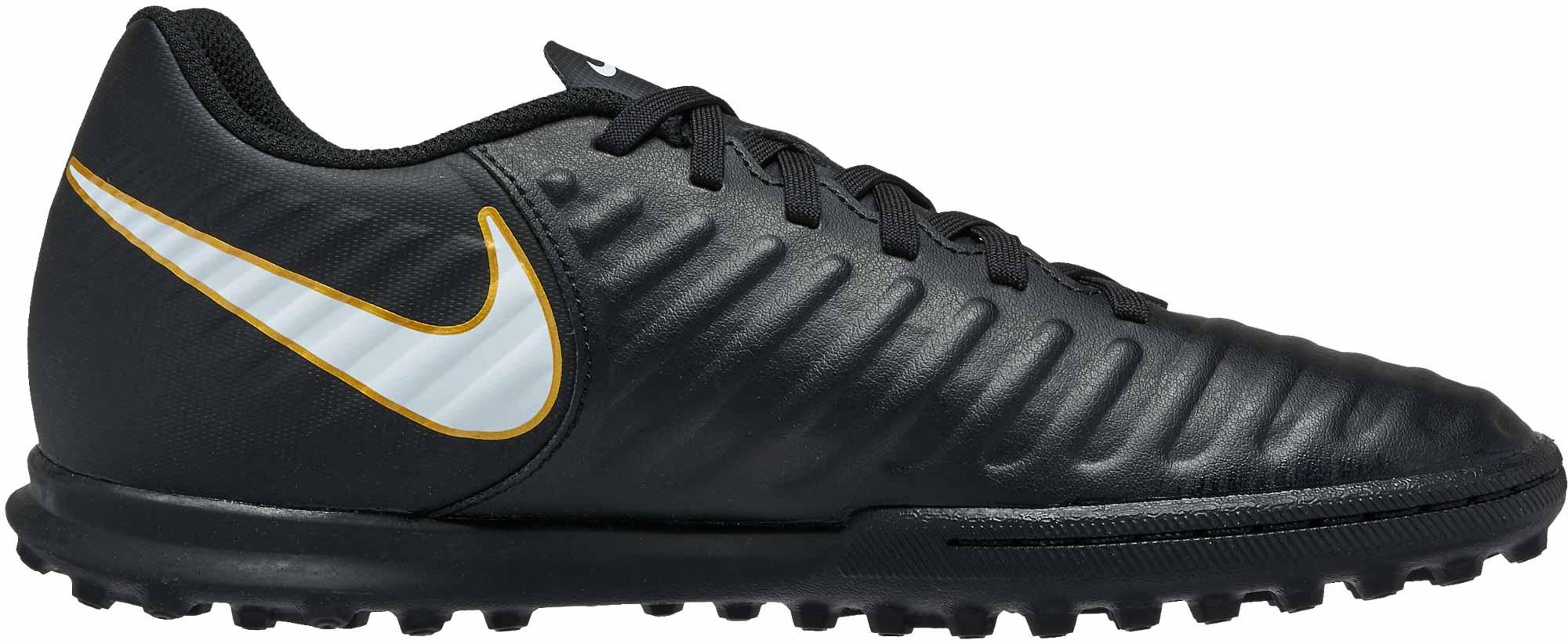 Buscar a tientas Facilitar Impotencia  Nike TiempoX Rio IV Turf Soccer Shoes - Black