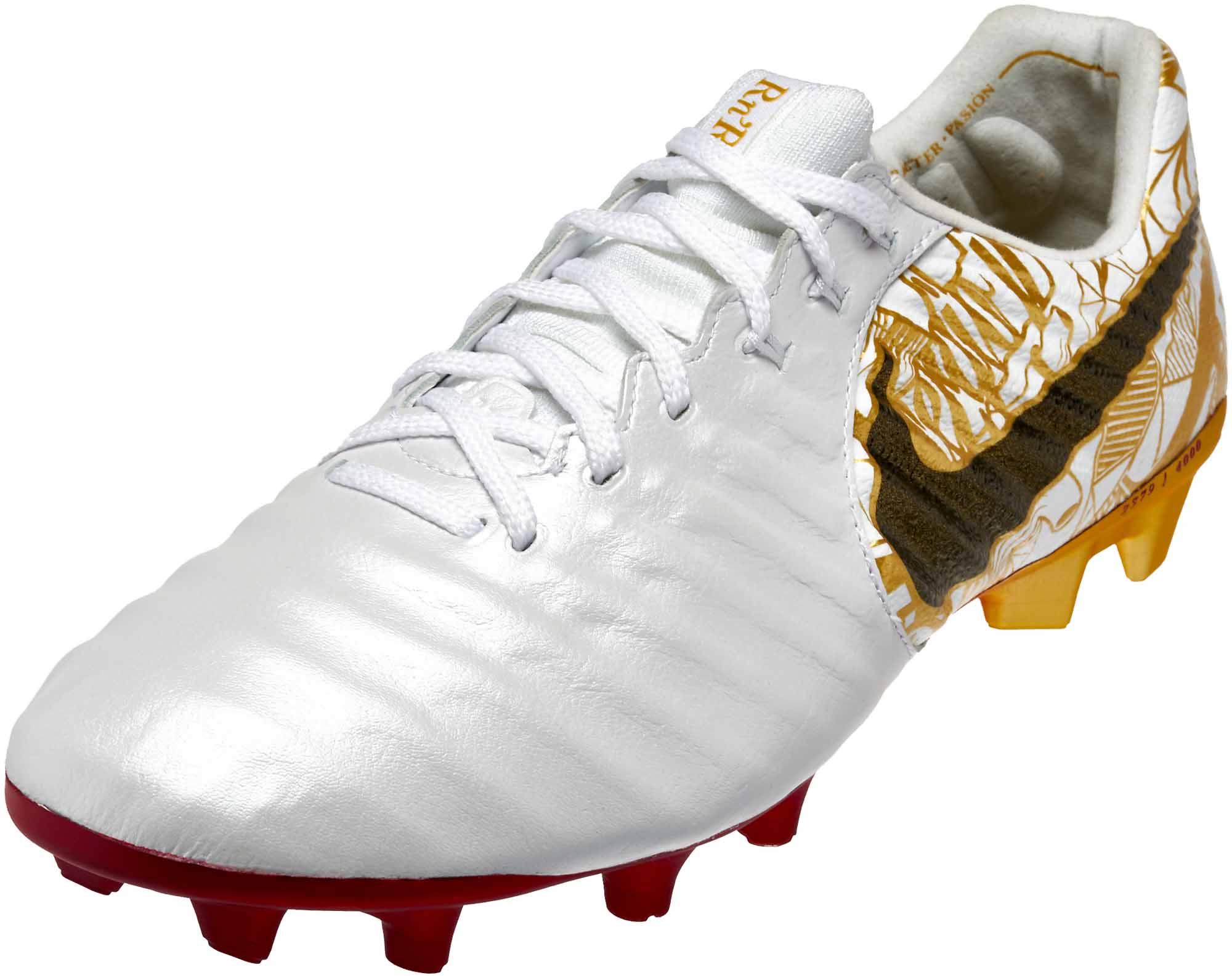 079b8eb7b92085 Nike Tiempo Legend VII SE FG – Sergio Ramos – White Metallic Vivid Gold
