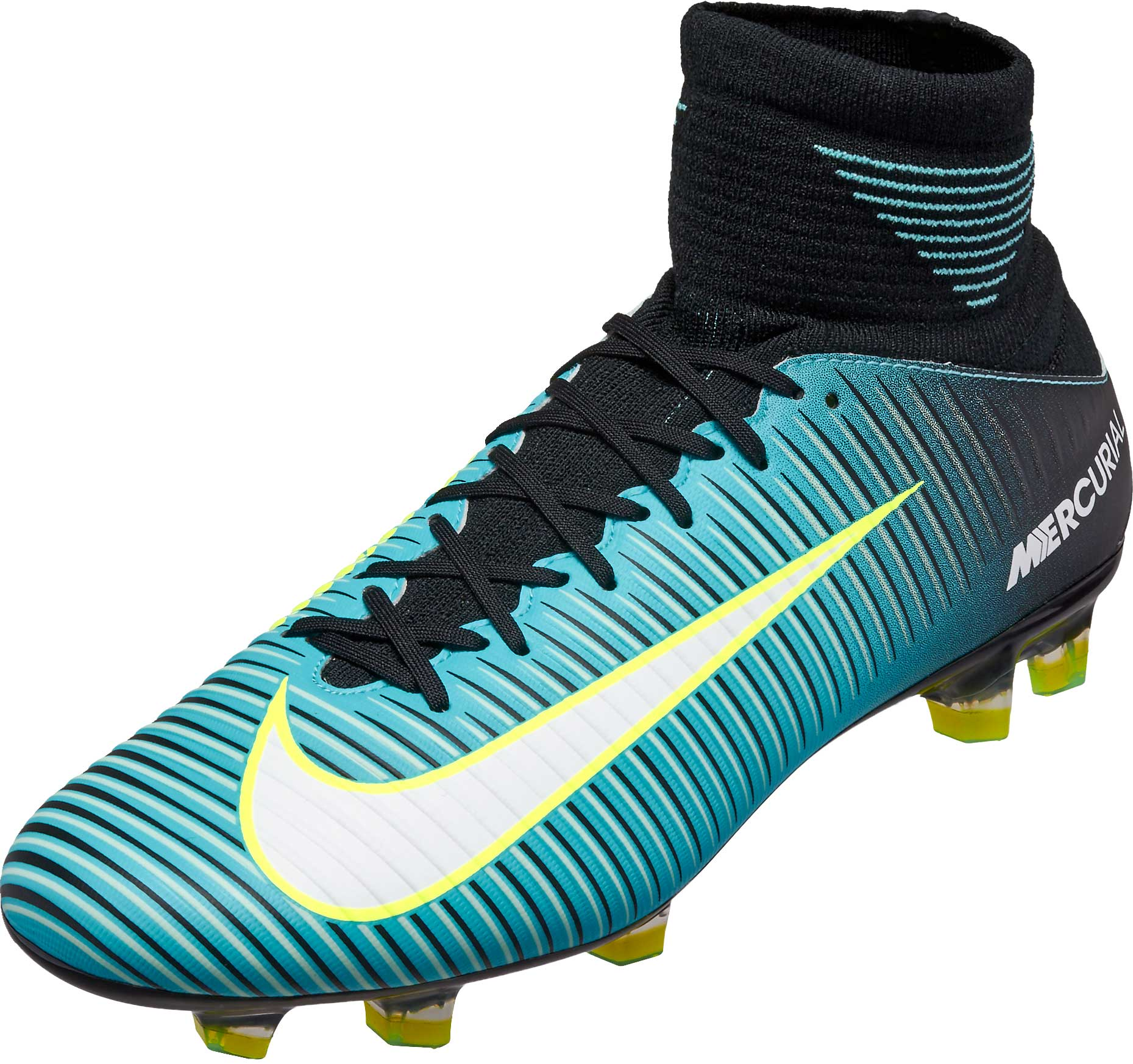 793c62797551 Nike Womens Mercurial Veloce III DF FG – Light Aqua/White