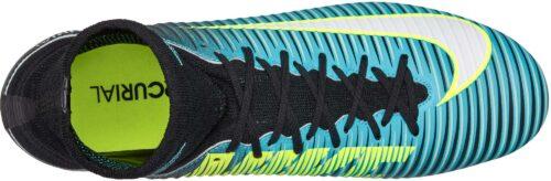 Nike Womens Mercurial Veloce III DF FG – Light Aqua/White