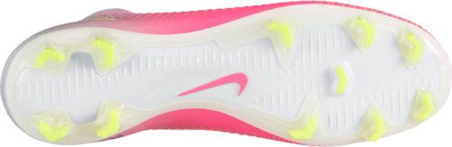 Nike Womens Mercurial Veloce III DF FG – Hyper Pink/White
