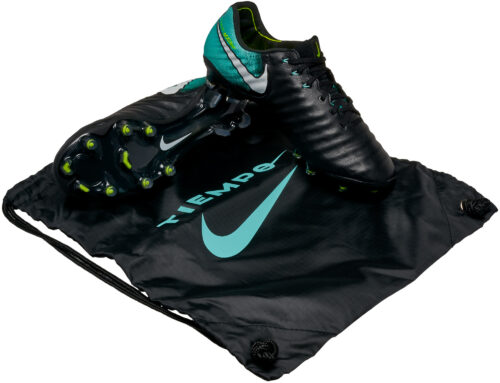 Nike Womens Tiempo Legend VII FG – Black/White