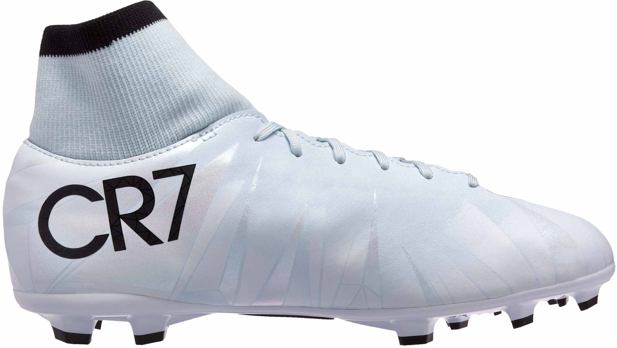 the best attitude e80f0 0226b Nike Kids Mercurial Victory VI DF FG CR7 - Blue Tint
