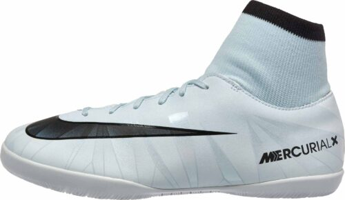 Nike Kids MercurialX Victory VI DF IC – CR7 – Blue Tint/Black
