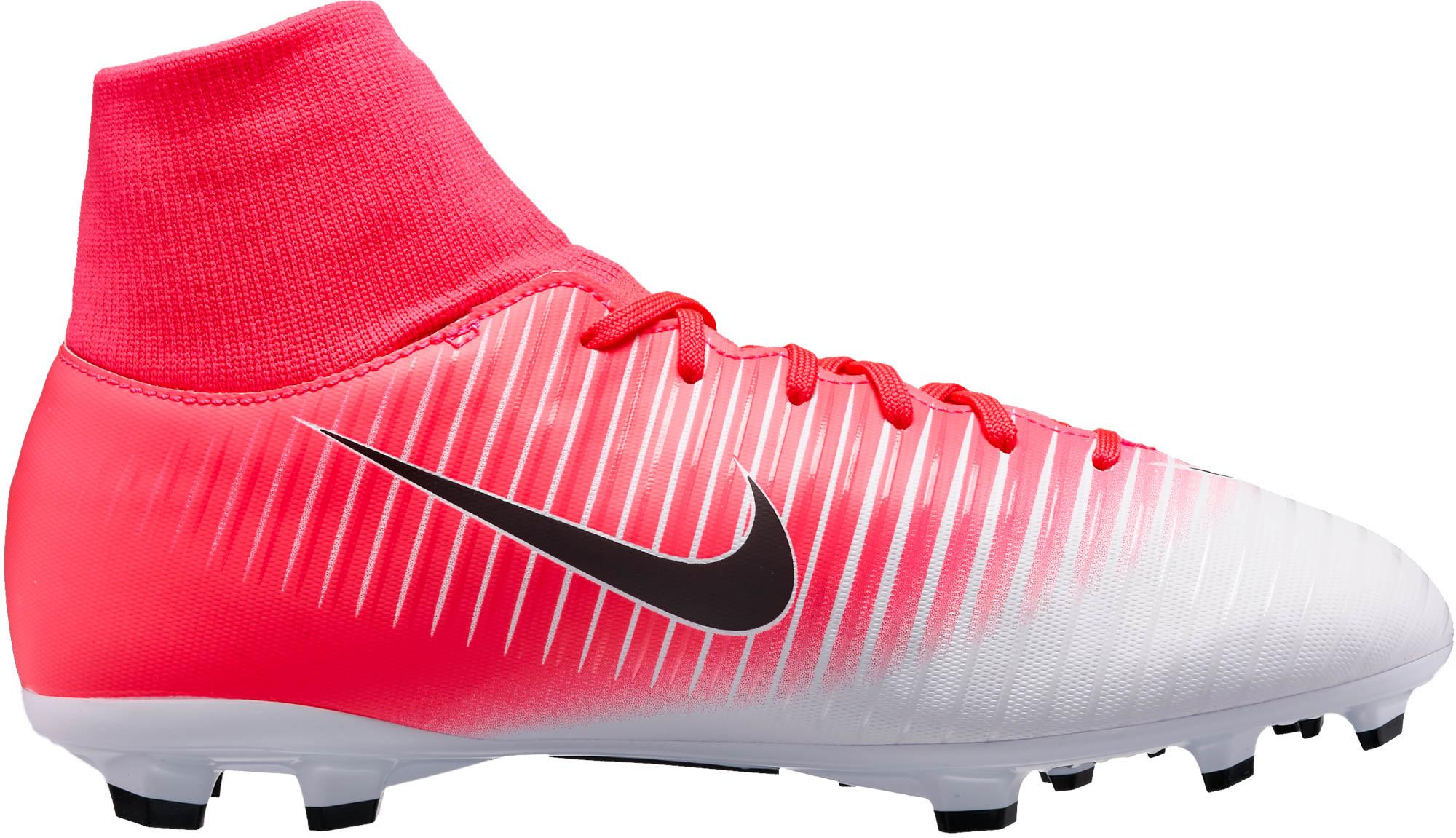 Nike Kids Mercurial Victory VI DF FG – Racer Pink/Black