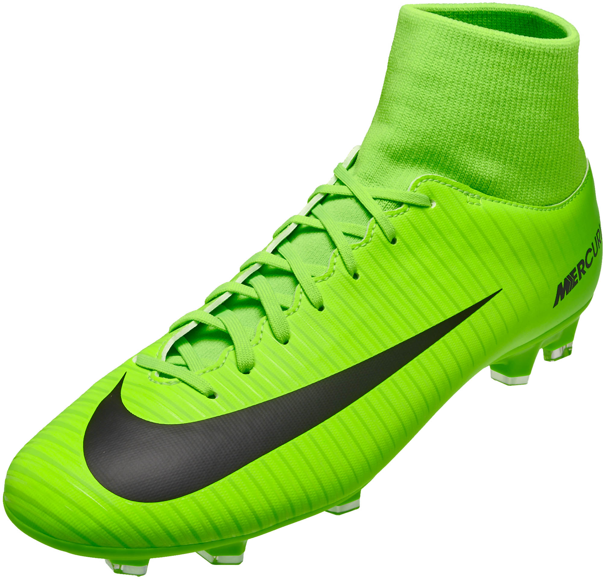 wholesale dealer eead4 fa87b Nike Mercurial Victory VI DF FG – Electric Green/Flash Lime