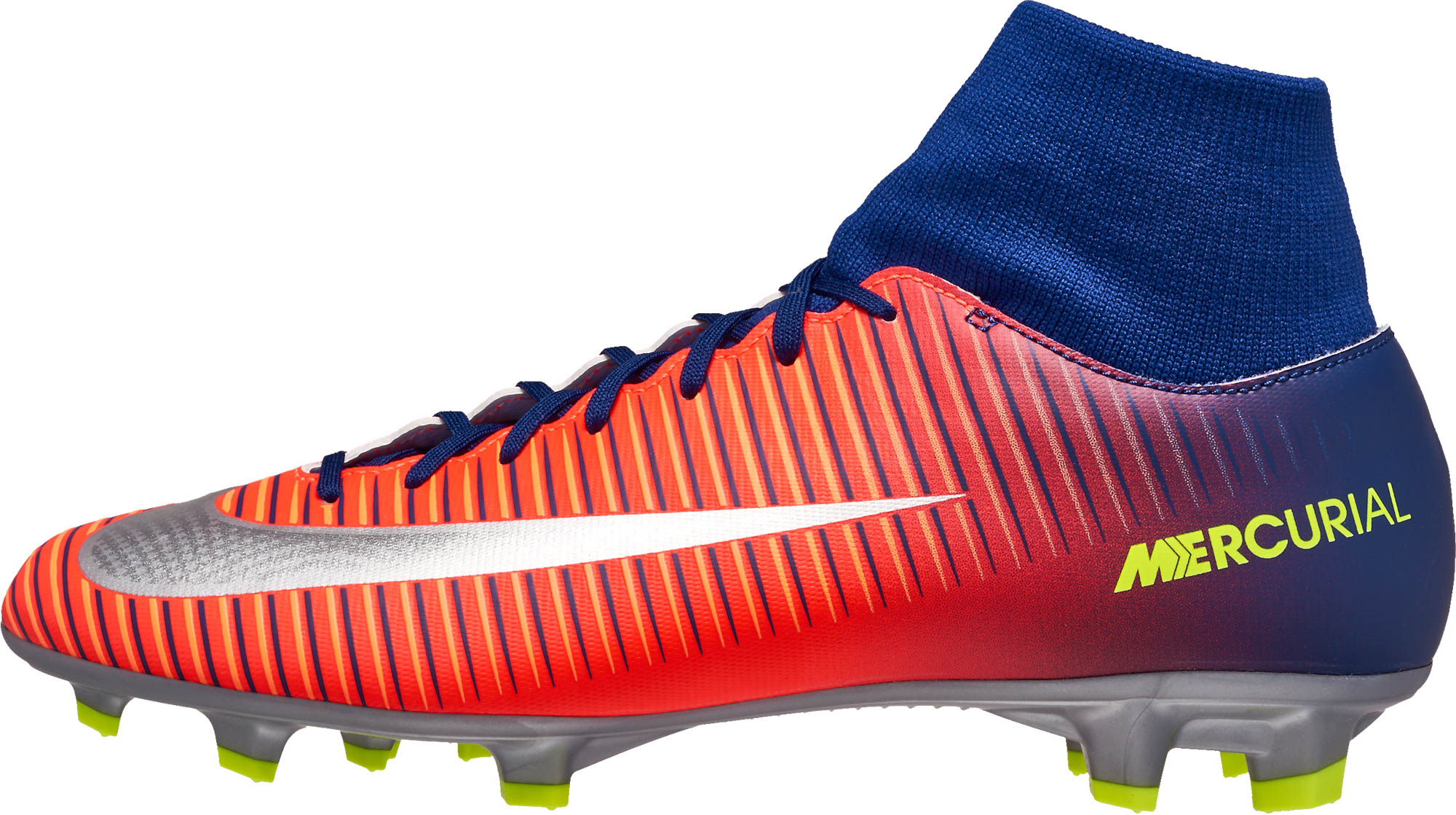 Nike Mercurial Victory VI DF FG – Deep Royal Blue/Chrome