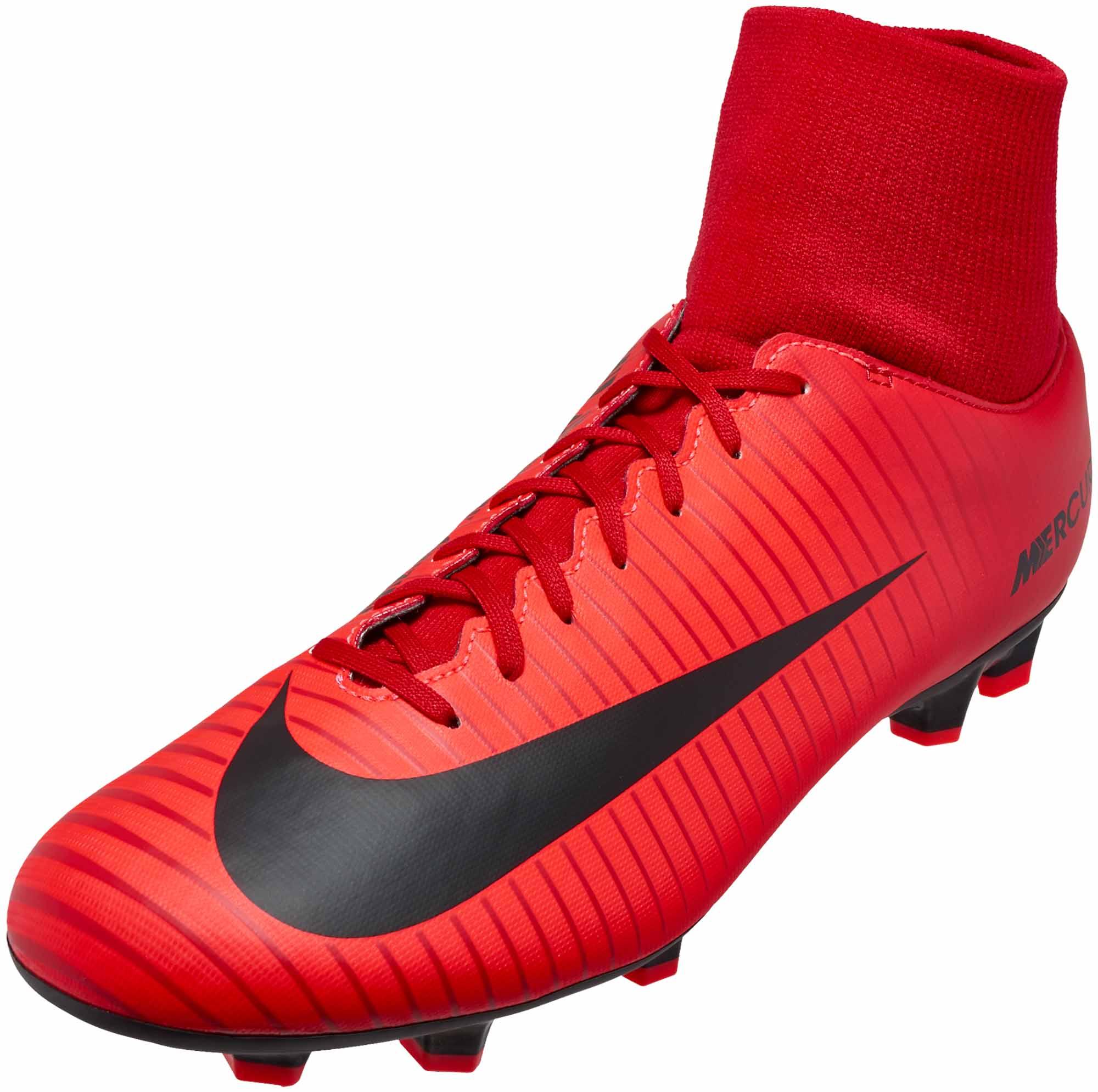 new styles 5bd77 32191 Nike Mercurial Victory VI DF FG – University Red/Black
