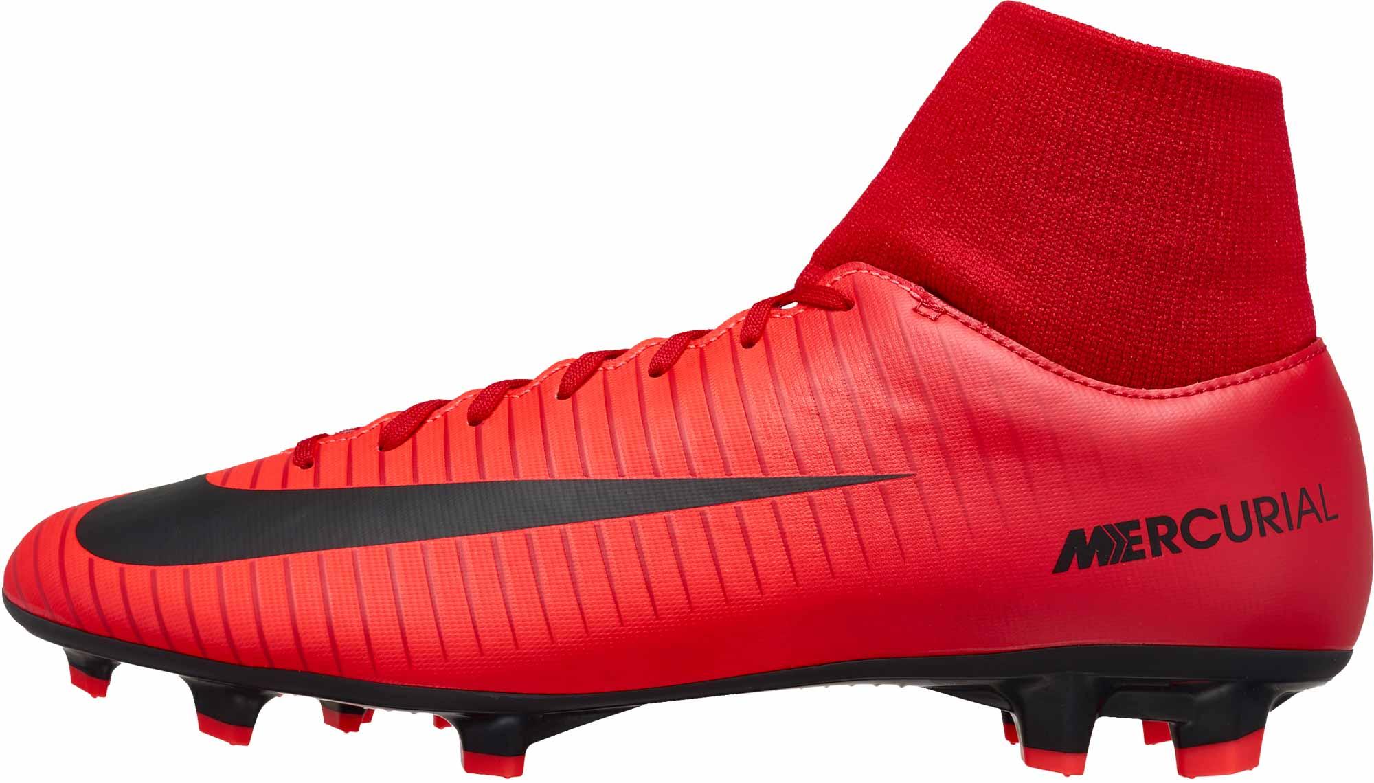 low priced c84c6 6e9ca Nike Mercurial Victory VI DF FG – University Red Black