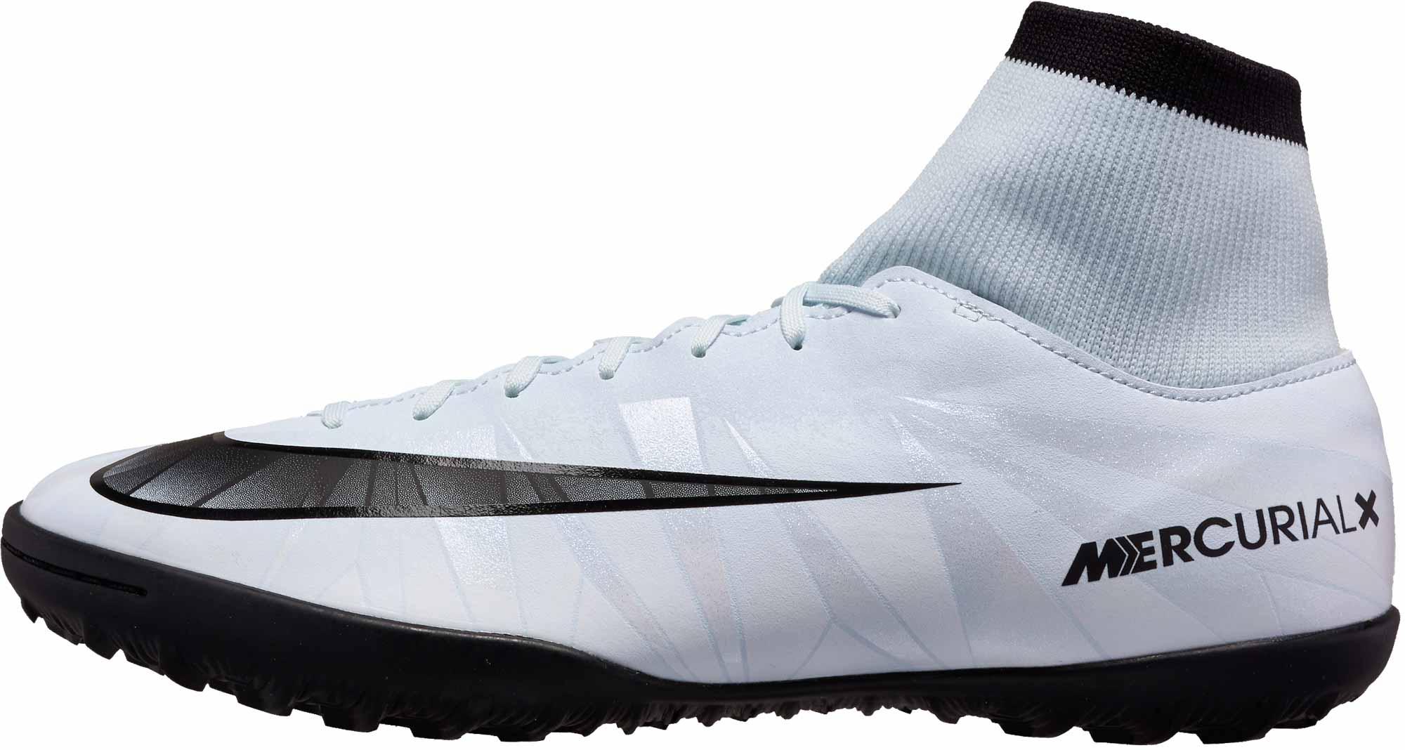 fad6506609ca Nike MercurialX Victory VI DF TF – CR7 – Blue Tint/Black