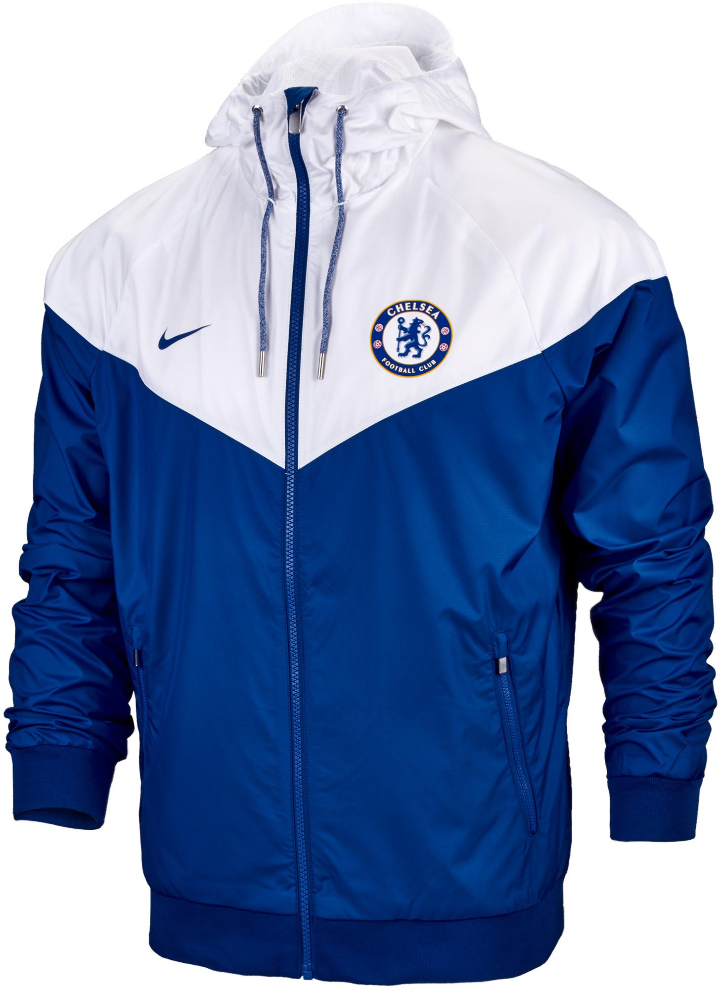 fa8741567732 Nike Chelsea Windrunner Jacket - Rush Blue   White