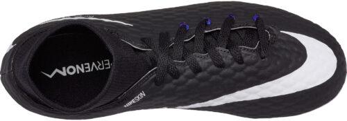 Nike Kids Hypervenom Phelon III DF FG – Black/White