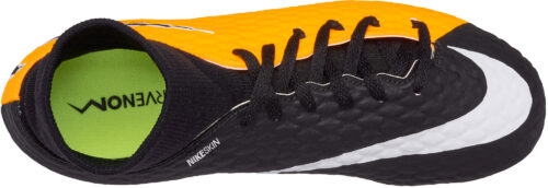 Nike Kids Hypervenom Phelon III DF FG – Laser Orange/Black