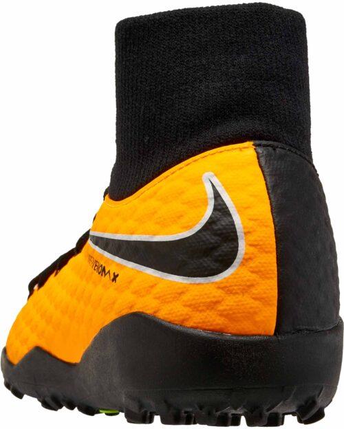 Nike Kids Hypervenom Phelon III DF TF – Laser Orange/Black
