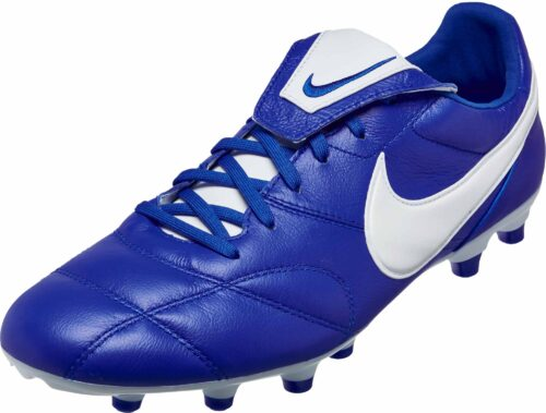 The Nike Premier II FG – Race Blue/White