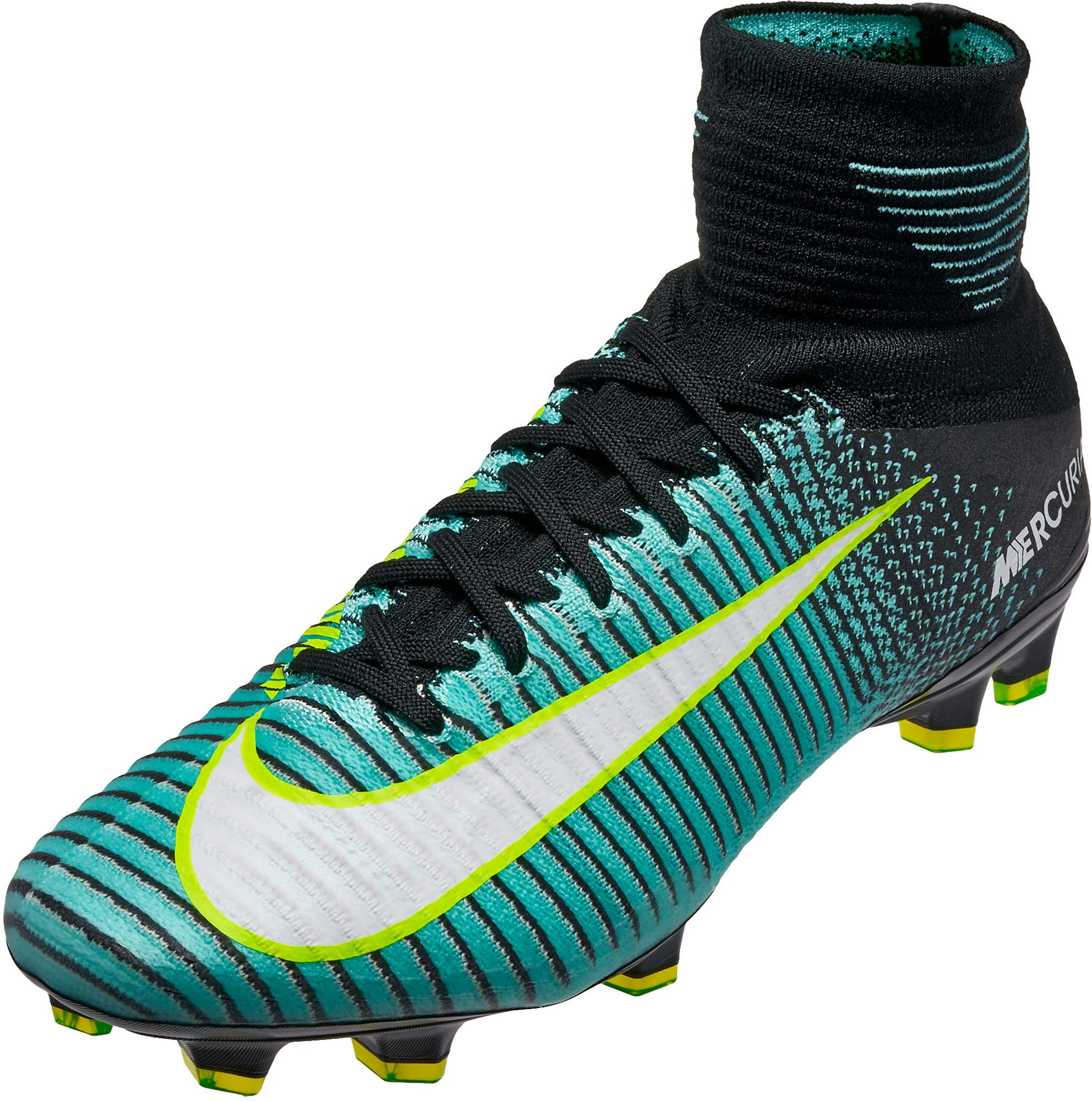 Nike Womens Mercurial Superfly V DF FG – Light Aqua White 4289b4136