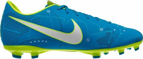 Nike Kids Mercurial Victory VI FG – Neymar – Blue Orbit/White