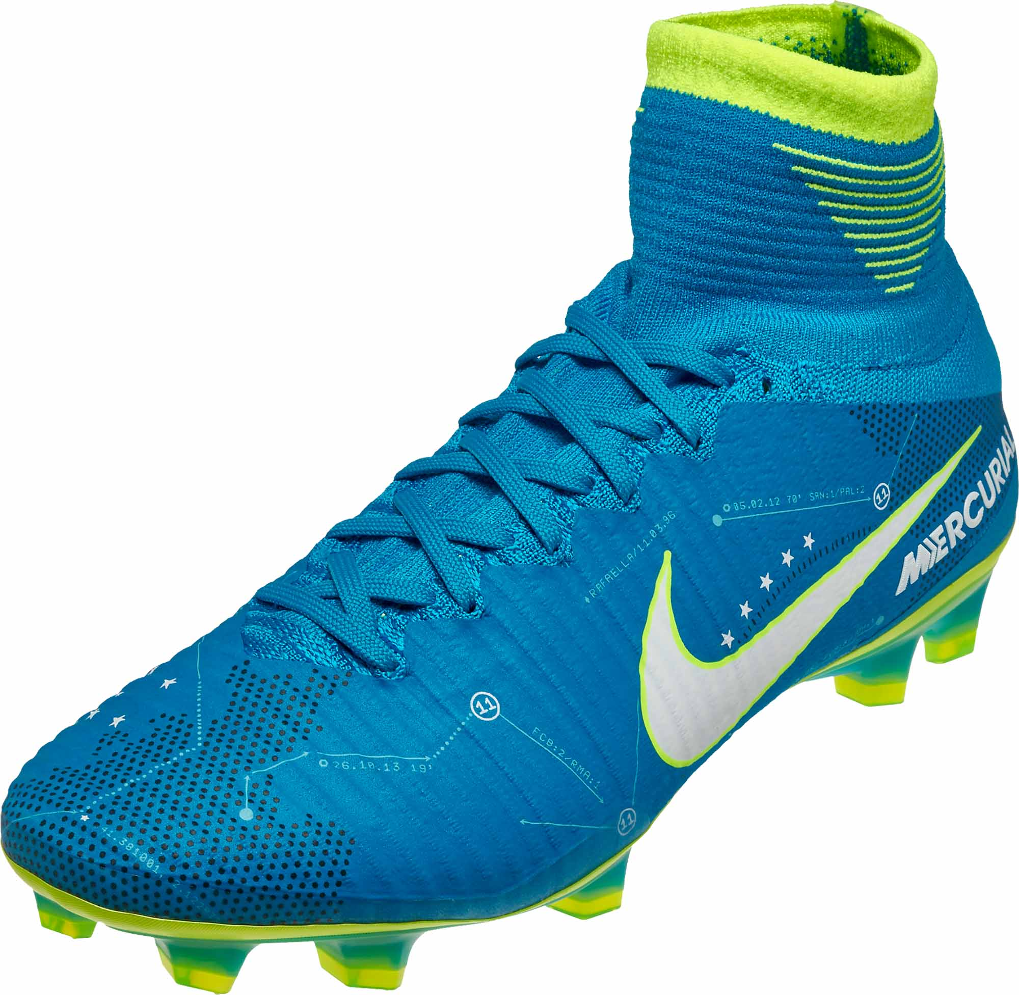 b27ac6571 Nike Mercurial Superfly V SX FG – Neymar – Blue Orbit White