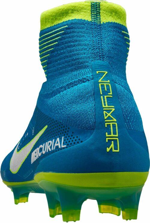 Nike Mercurial Superfly V SX FG – Neymar – Blue Orbit/White