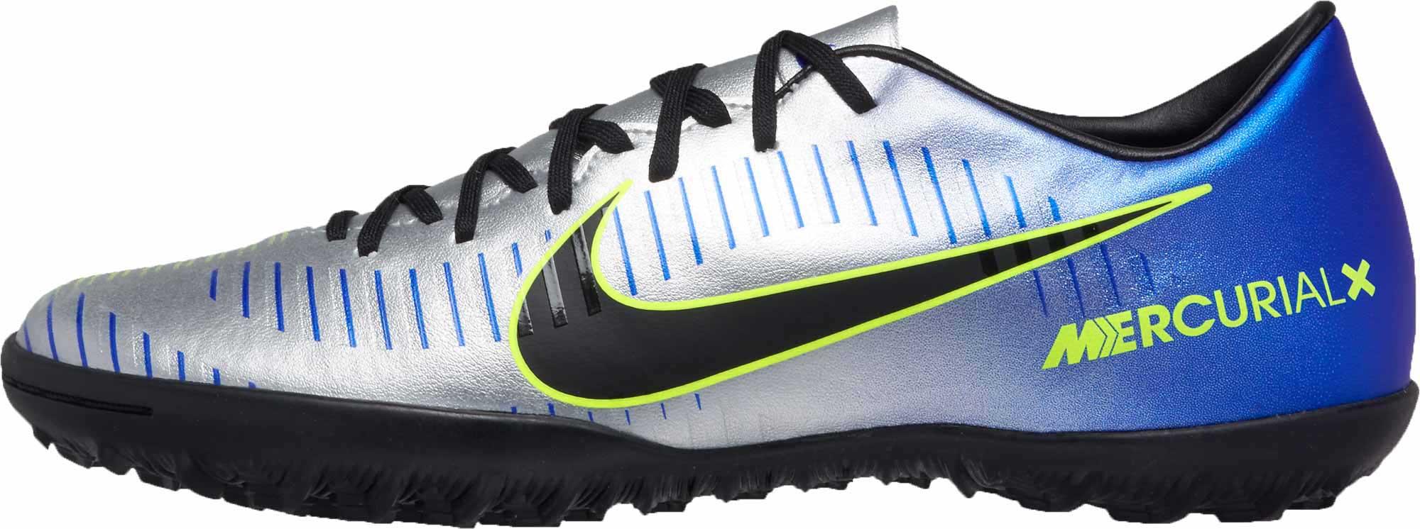 buy online 9cfd5 f9fc6 Nike MercurialX Victory VI TF – Neymar Jr – Racer Blue Chrome