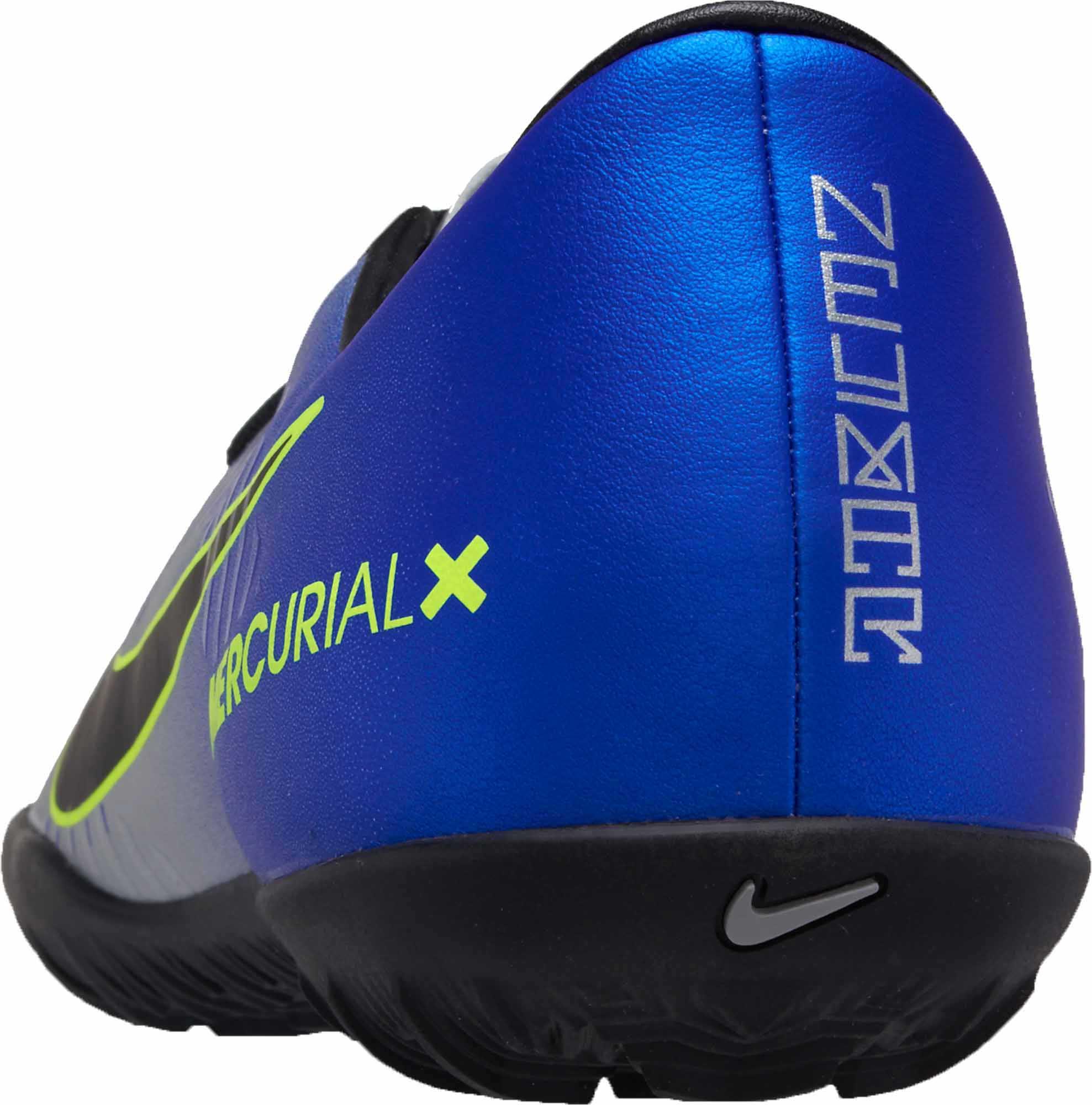 buy online 519e9 be6d7 Nike MercurialX Victory VI TF – Neymar Jr – Racer Blue Chrome