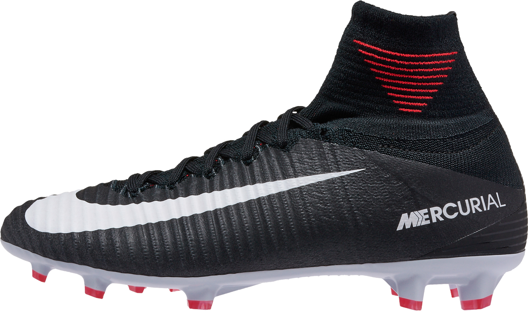 Nike Kids Mercurial Superfly V FG - Black Soccer Cleats 392f8cd8322b