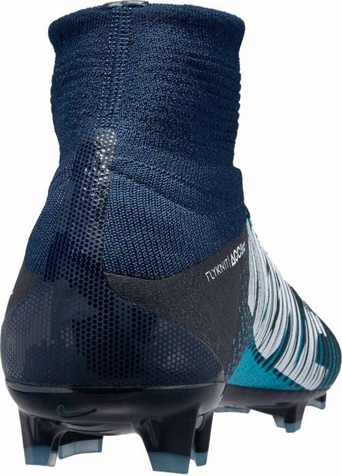 Nike Kids Mercurial Superfly V FG – Obsidian/White